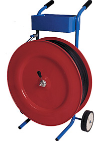 Bandabrollwagen für Kunststoff-/ Stahlbänder
