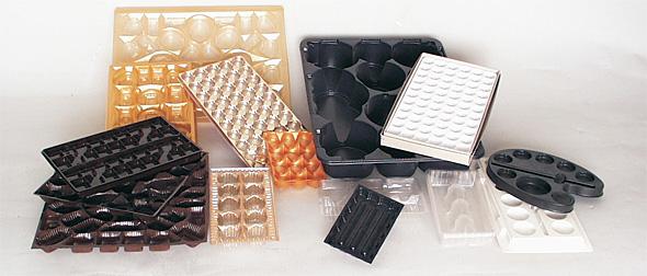 Tiefziehteile aus PVC, PP, PS, ABS